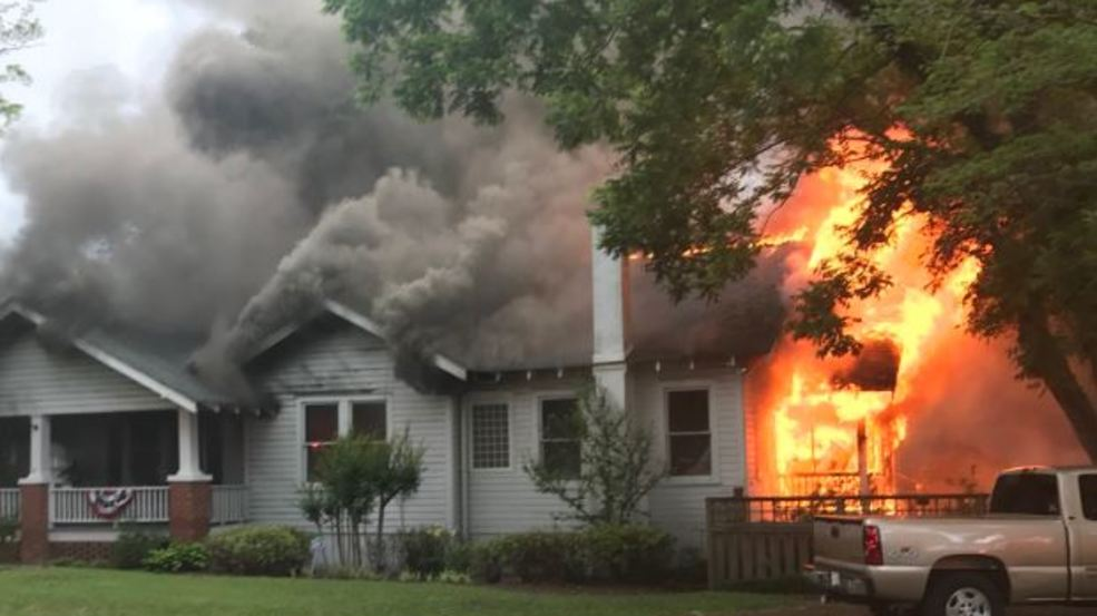 Clerk of Session Loses House to Fire