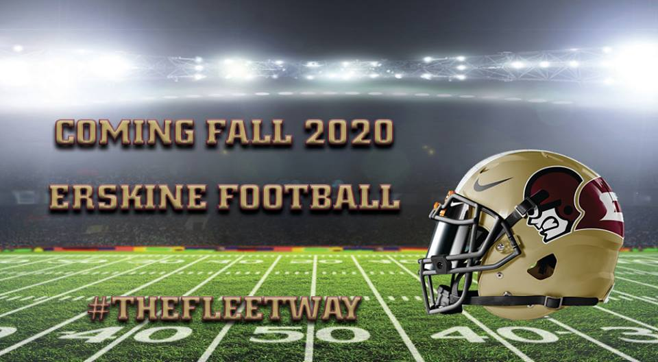 Erskine Bringing Back Football in 2020