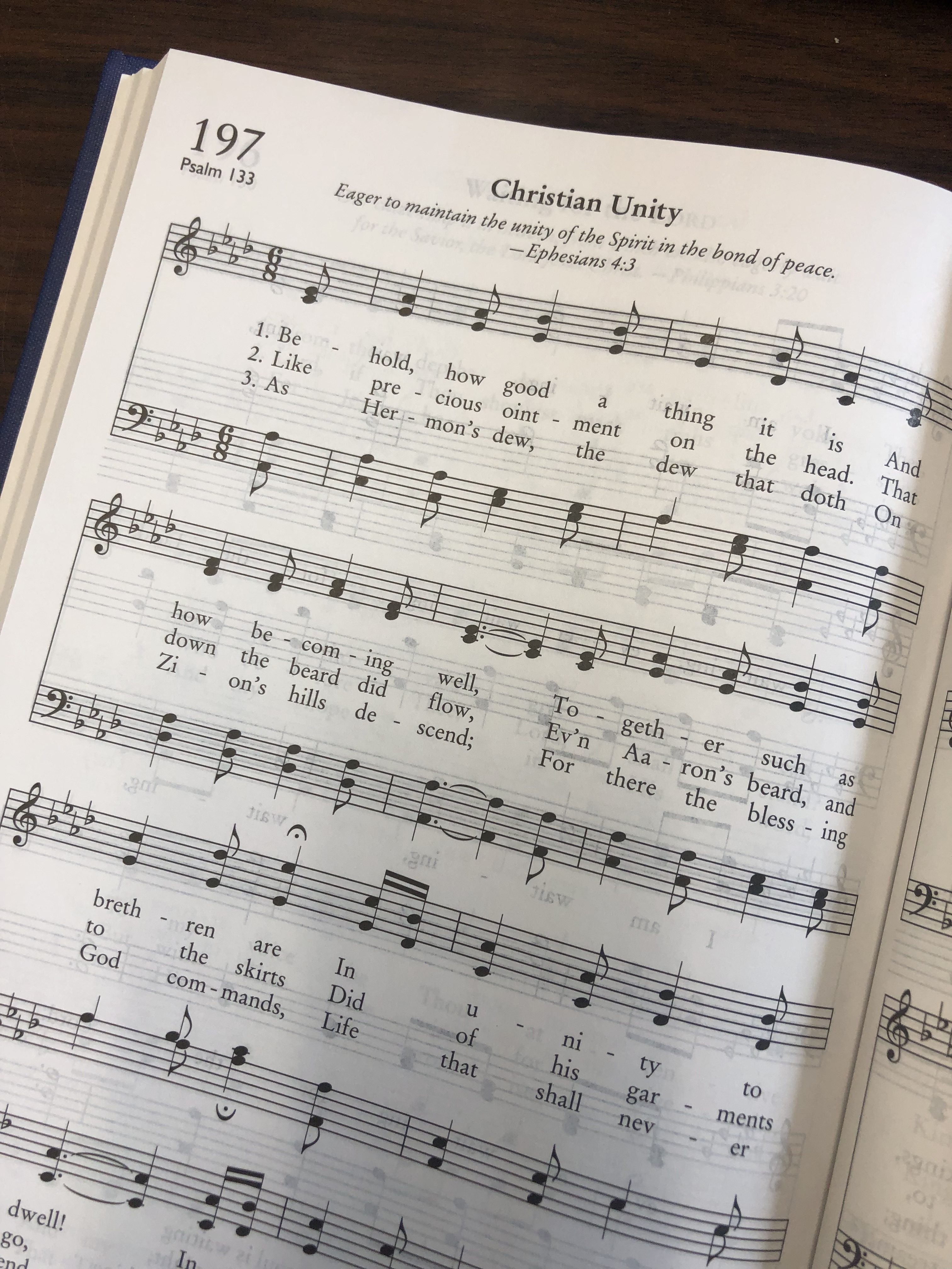 Psalm Singing